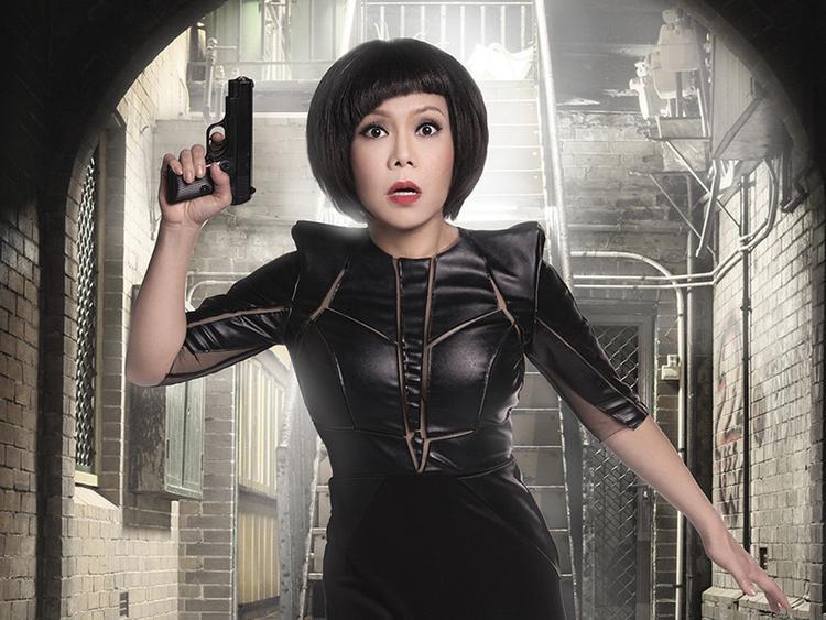 Việt Hương tiếp tục là điểm sáng lớn nhất của phim.
