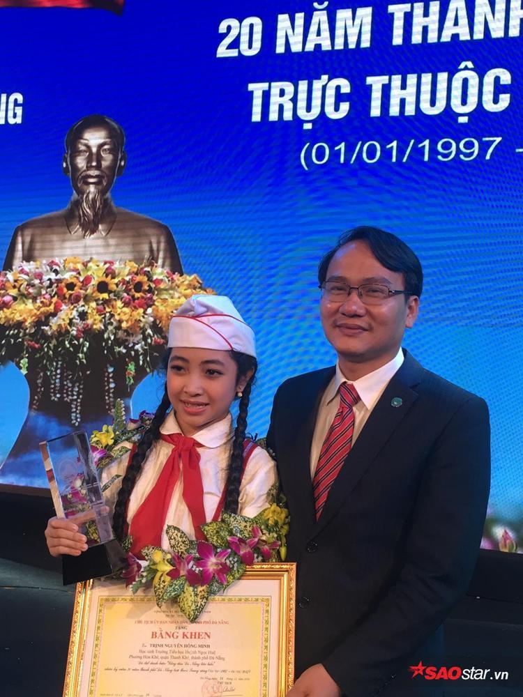 Hồng Minh  Quán quân The Voice Kids 2015 lọt Top 20 công dân tiêu biểu TP Đà Nẵng