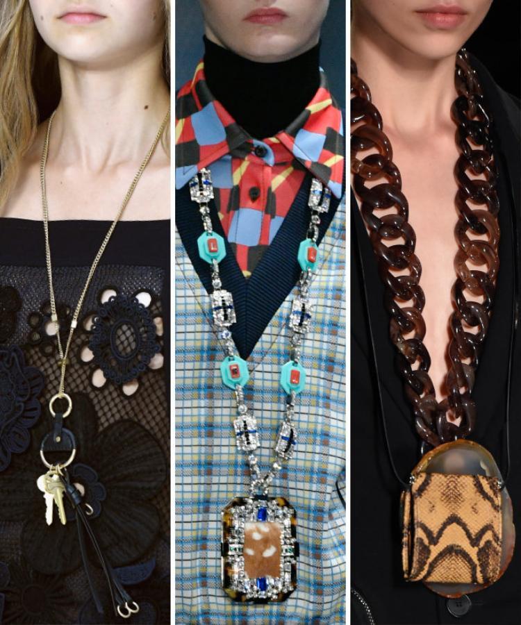 Những mẫu vòng cổ to bản sẽ mang đến vẻ quyến rũ, ấn tượng cho các quý cô phóng khoáng, hiện đại.
