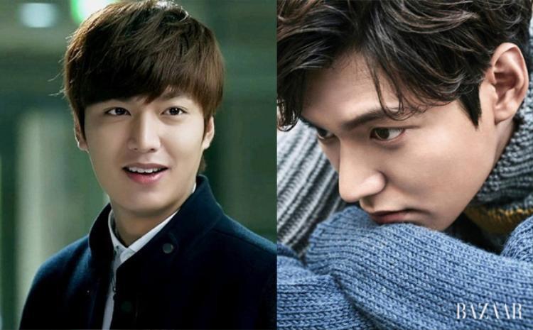 Khuôn mặt điển trai của Lee Min Ho rạng rỡ và tươi sáng hơn nhờ kiểu tóc 2 mái tỷ lệ 3-7