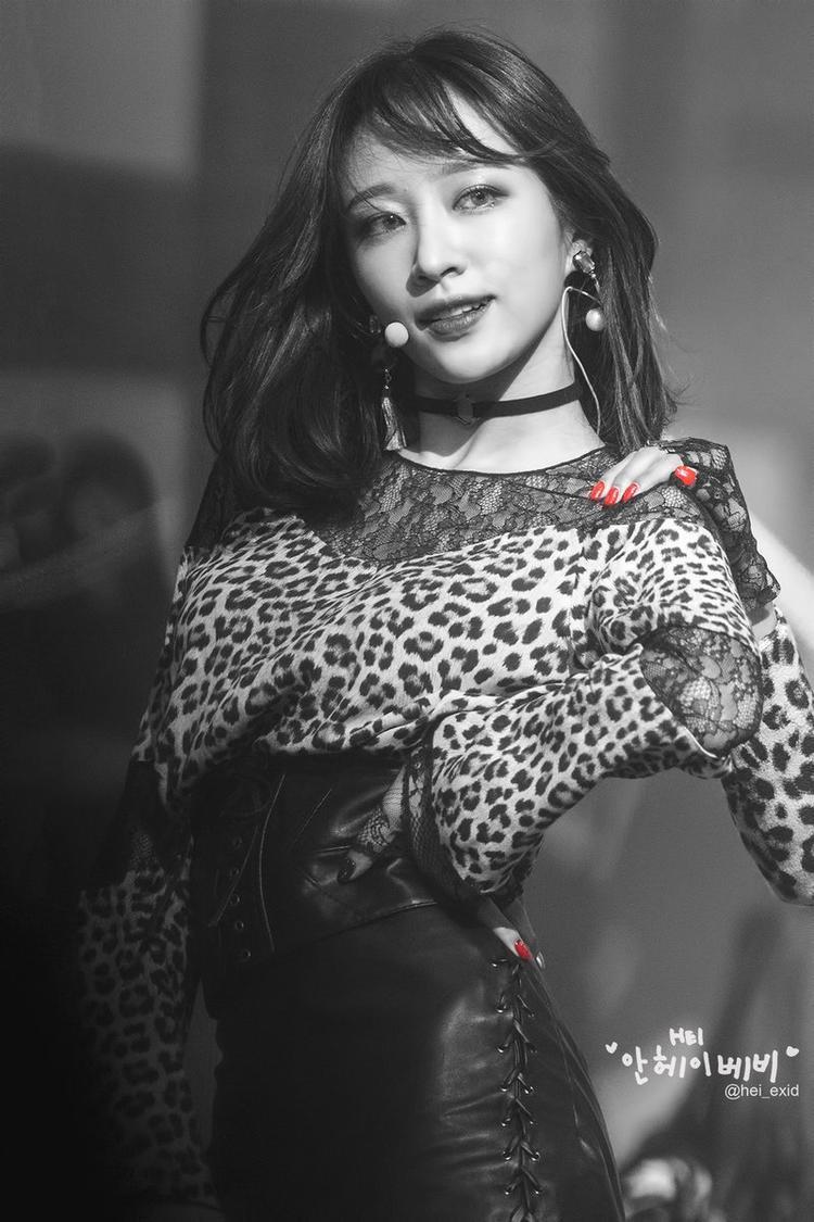 Hani tại MBC Gayo Daejun.