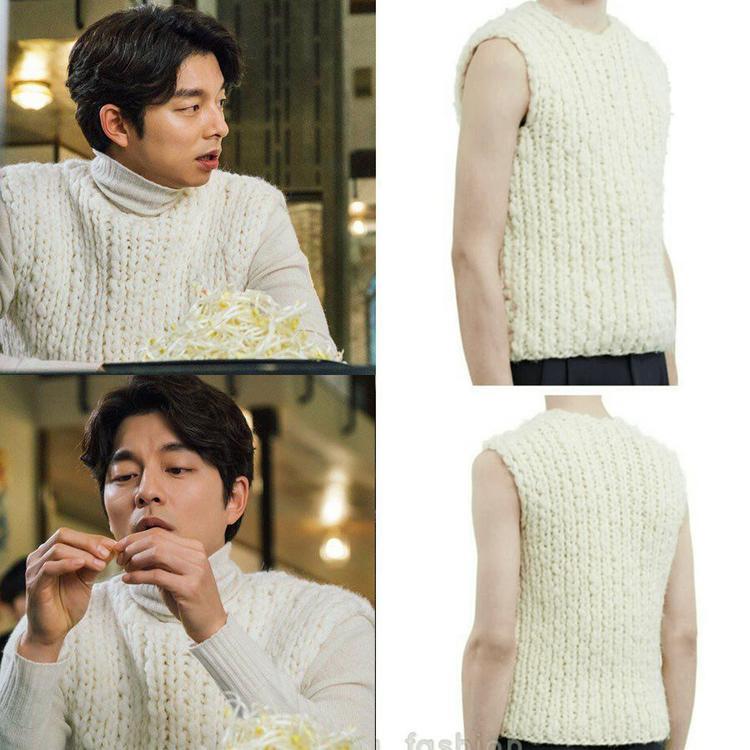 Vì nhà có điều kiện nên có ngồi nhặt giá đỗ thì cũng vẫn phải mặc áo len hơn 11 triệu VNĐ nhé!
