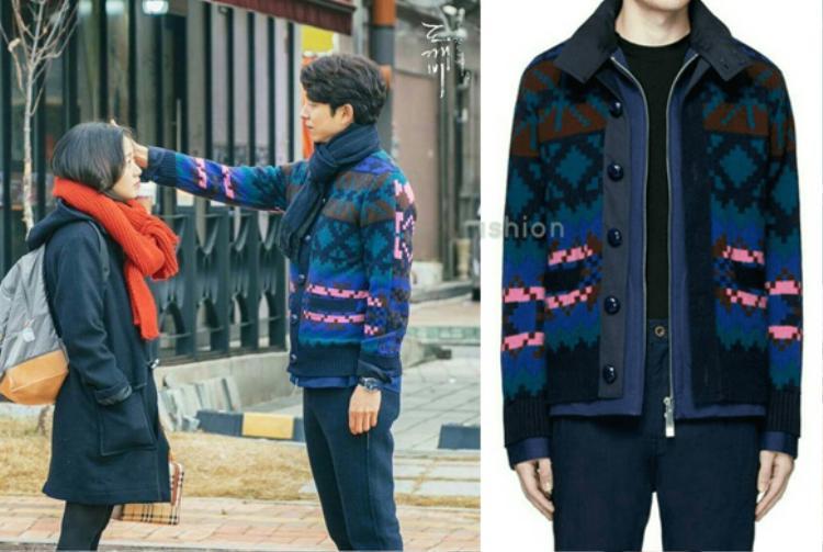 Một sản phẩm khác đến từ thương hiệu Sacai là chiếc áo khoác họa tiết này. Nó có giá hơn 19 triệu VNĐ