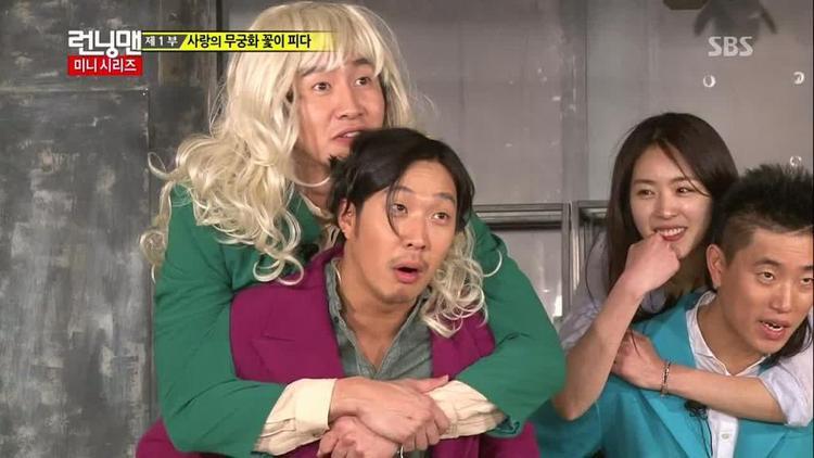 Như mọi khi, Kwang Soo và Haha là một cặp đôi vô cùng hài hước.