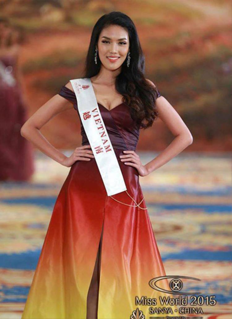 Lan Khuê luôn nằm trong số những ứng cử viên nặng kí cho ngôi vị cao nhất Hoa hậu Thế giới 2015.