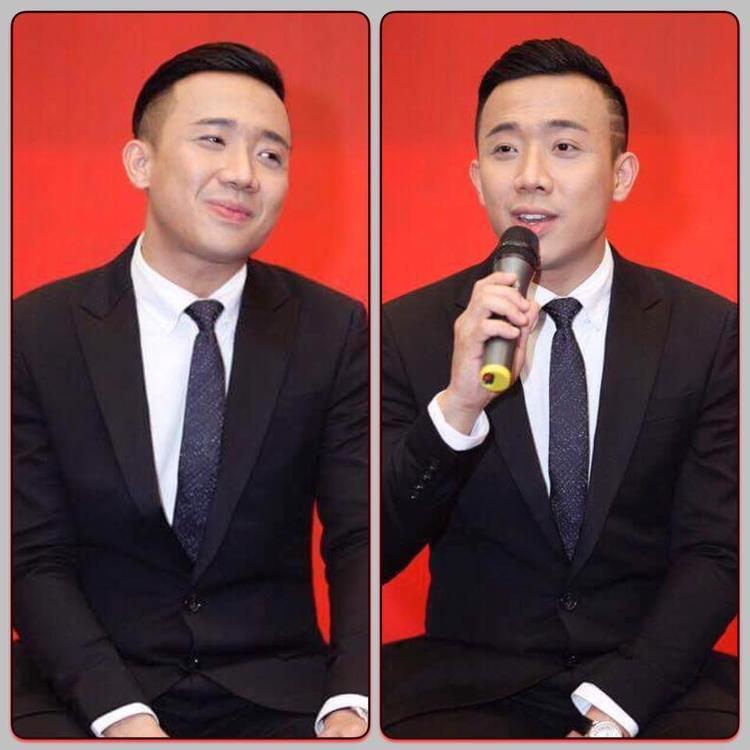 Trấn Thành cũng là một trong những quý ông điệu đà của showbiz Việt.