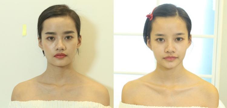 Cô nàng The Face Kim Chi cũng nhận được kết quả vô cùng ưng ý