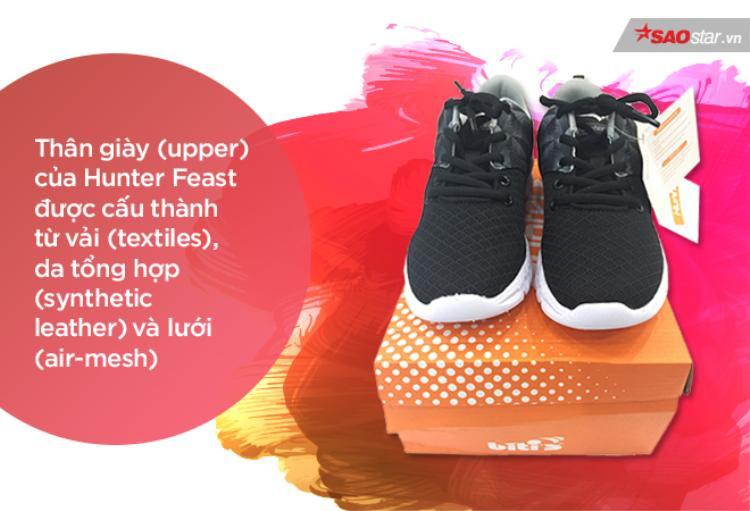 Biti's có sự cải thiện vượt bậc khi đưa ra thiết kế gọn nhẹ, năng động chứ không còn thô kệch như những đôi giày huyền thoại trước giờ. Cấu tạo 3 phần rành mạch không hề thua kém bất cứ đôi giày thể thao nào của các hãng khác.