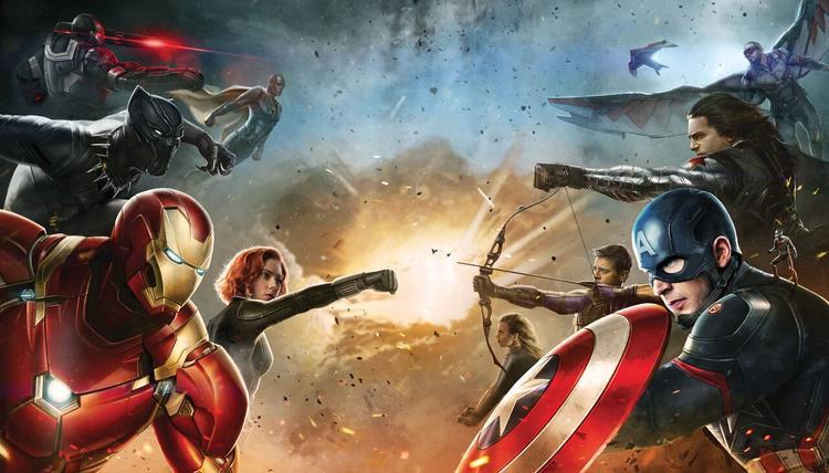 Tràng pháo tay cho Marvel.