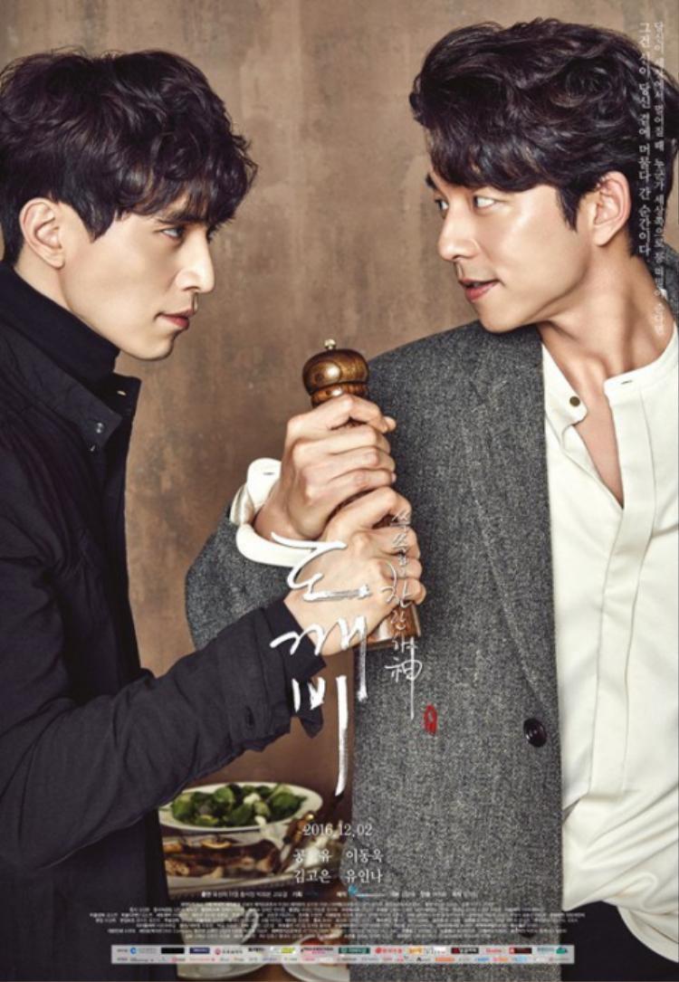Quý ông Lee Dong Wook và Gong Yoo.