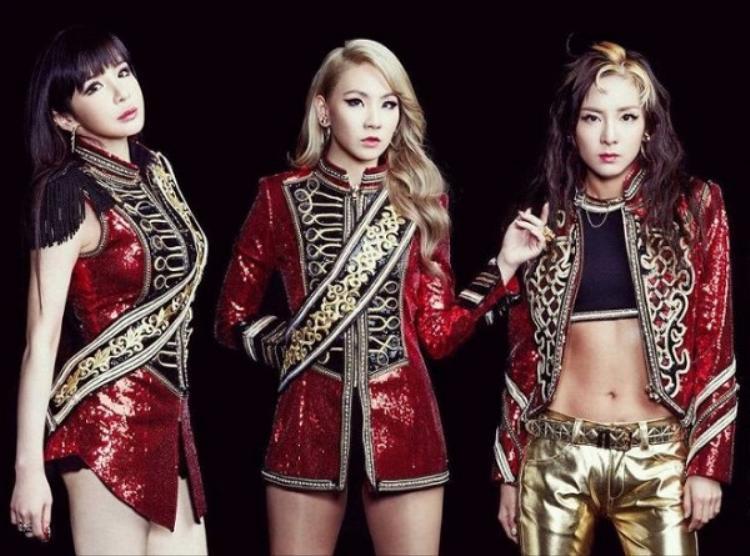 Do đã rời YG nên các fan chỉ có thể được nhìn ngắm 3 thành viên Bom, CL và Dara trong MV Goodbye sắp tới.