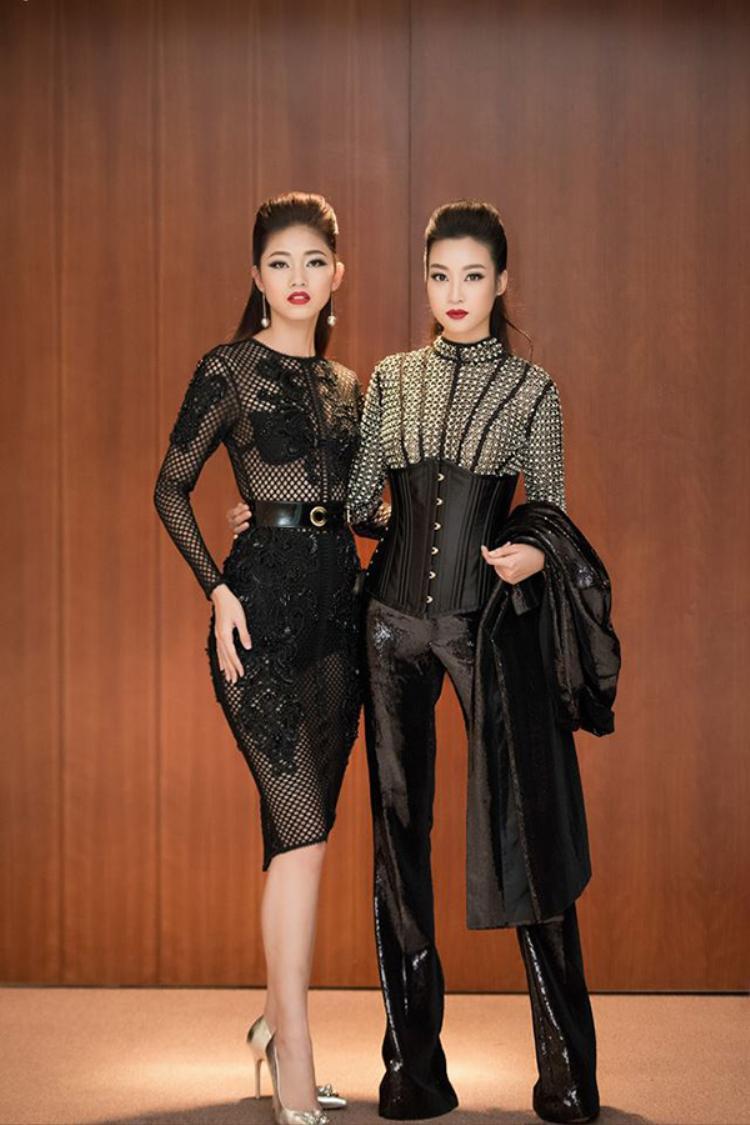 Hoa hậu Mỹ Linh ngày càng thân thiết đến khó tin với Á hậu Thanh Tú