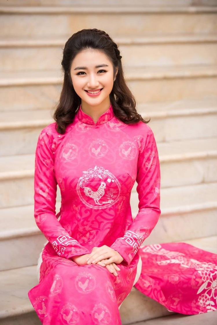 Nhan sắc xinh đẹp của Hoa hậu bản sắc Việt toàn cầu 2016.