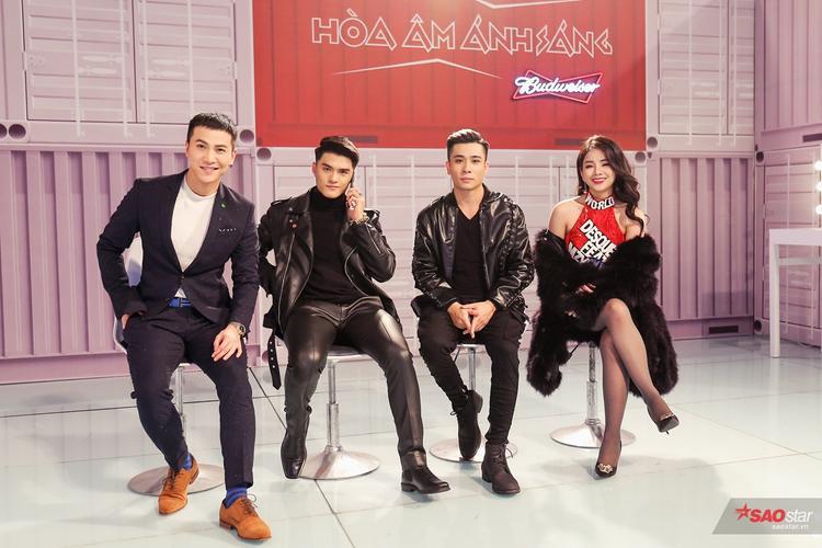 Team Tiến Dũng với producer Gin - DJ Mie và biên đạo Lâm Vinh Hải…