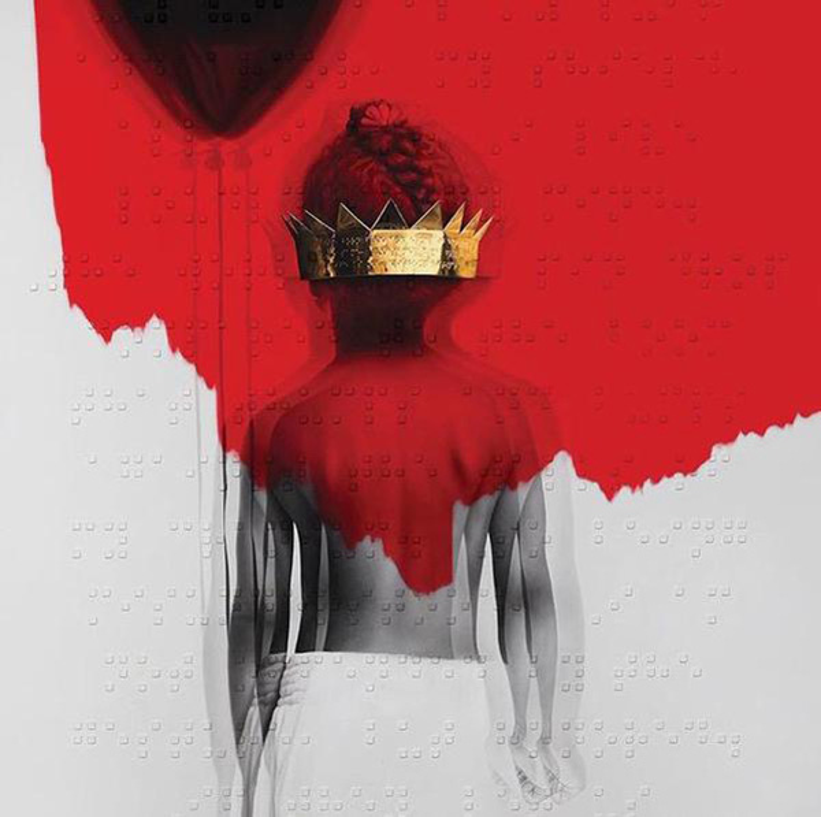 Album Anti của Rihanna phát hành vào đầu năm 2016.