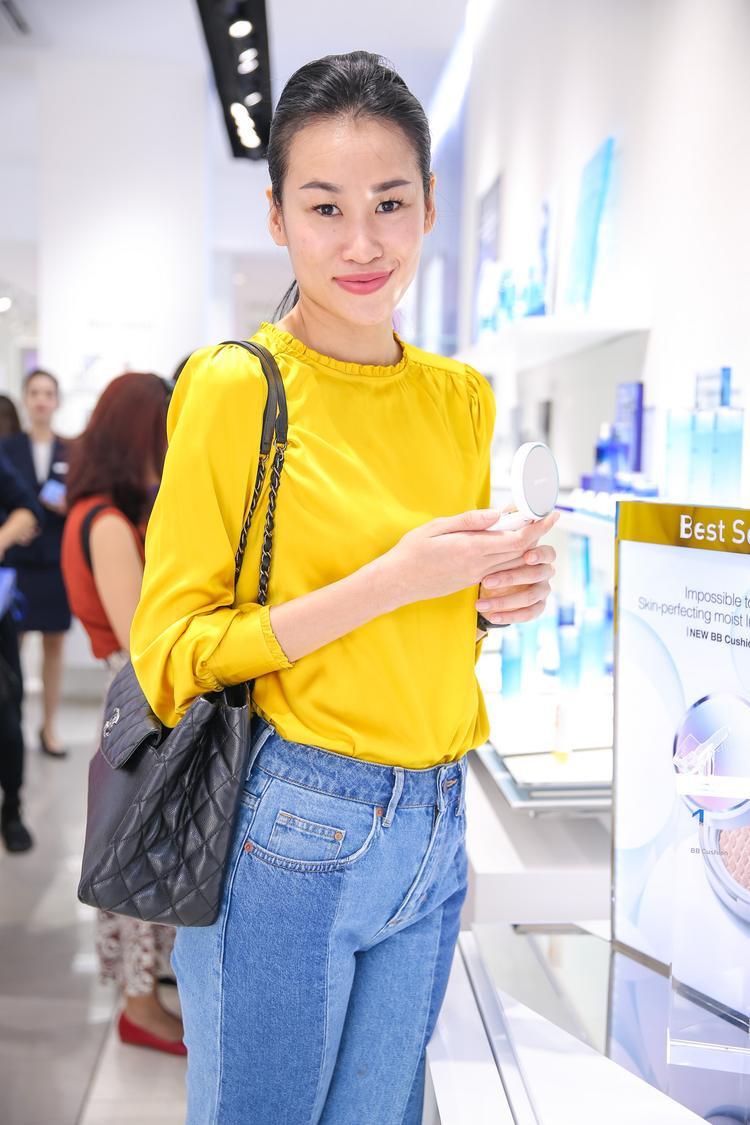 Người mẫu Thanh Trúc Trương.