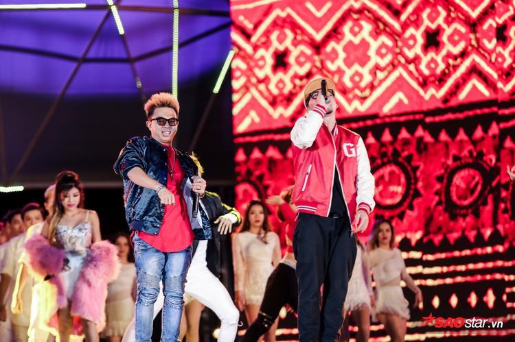 PB Nation khiến tất cả phải nhún nhảy với bài rap độc quyền cho đêm trao giải.