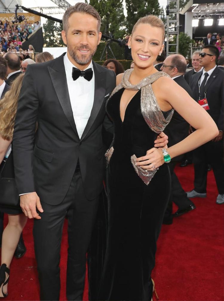 Vợ chồng Ryan Reynolds - Blake Lively.