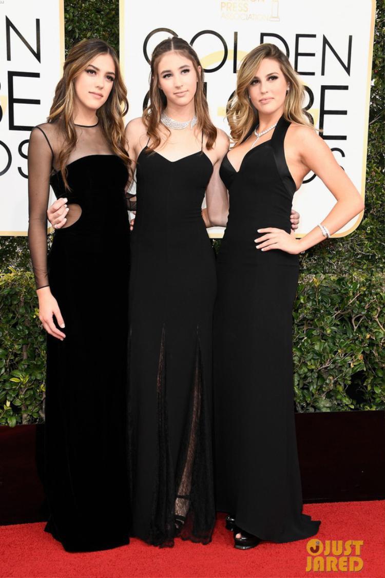 Sistine, Scarlet và Sophia.