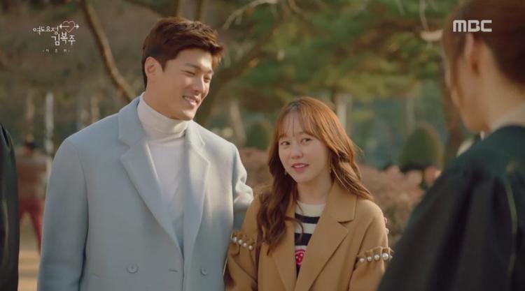 """""""Người tình trong mộng"""" ngày nào của Bok Joo giờ cũng đã tìm được hạnh phúc cho riêng mình."""