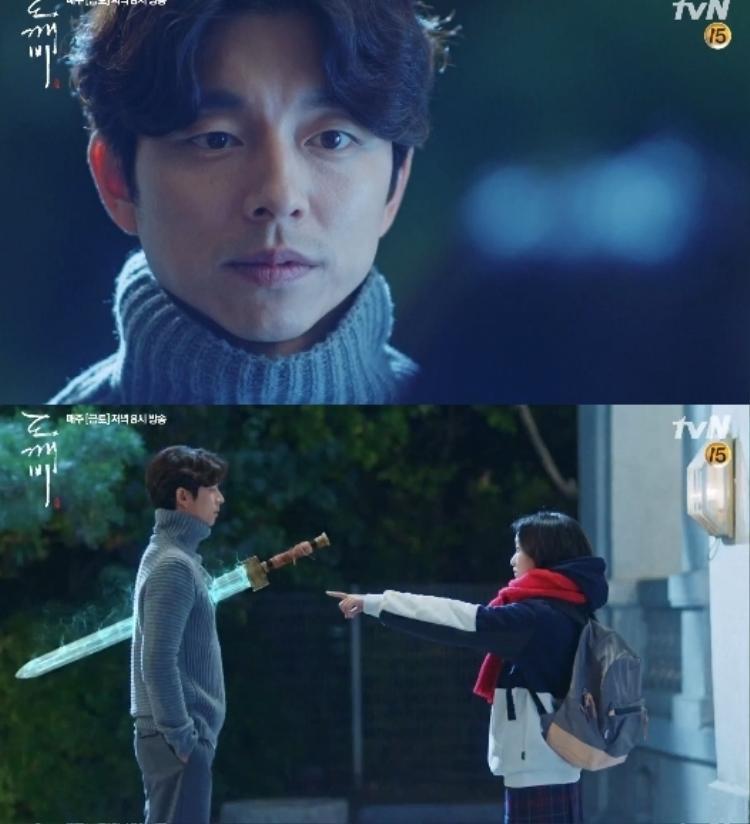 """Chỉ có """"Tân nương yêu tinh"""" mới có thể nhìn thấy và rút được thanh kiếm từ ngực của Kim Shin ra"""