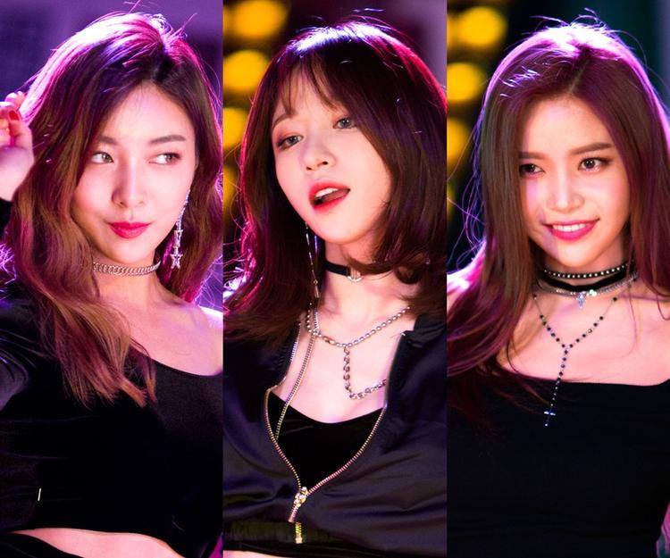 Bộ ba Hani, Luna và Solar hứa hẹn thiêu đốt mọi sân khấu với một ca khúc dance sôi động.