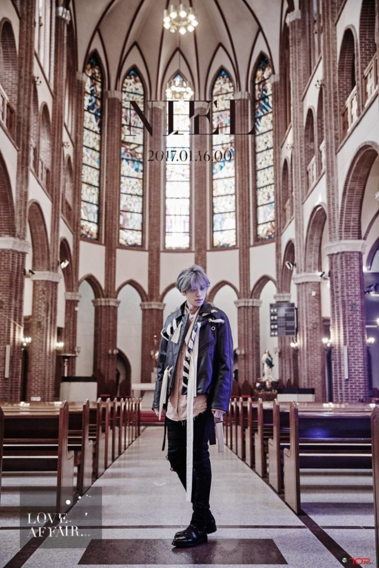 Thành viên TEENTOP - Nielsẽ trở lại với album solo Love Affair ngày 16/1.