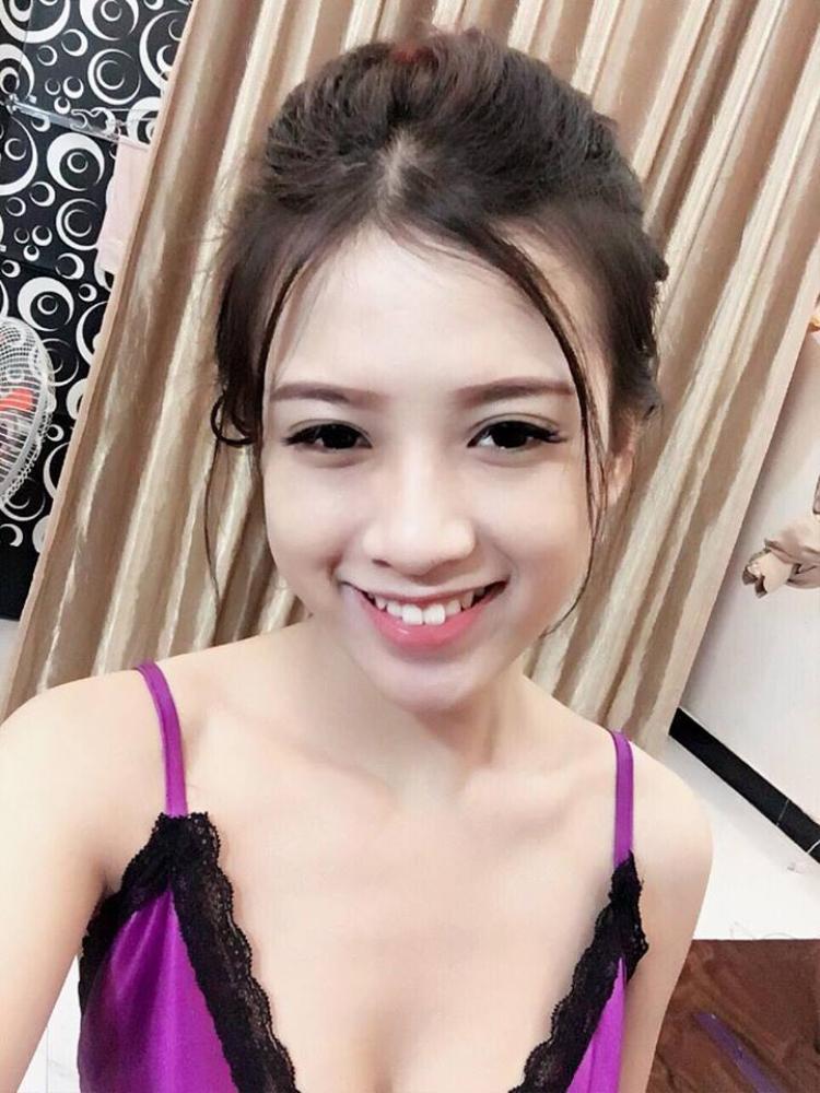 Gương mặt dễ mến của cô gái trẻ trong clip.