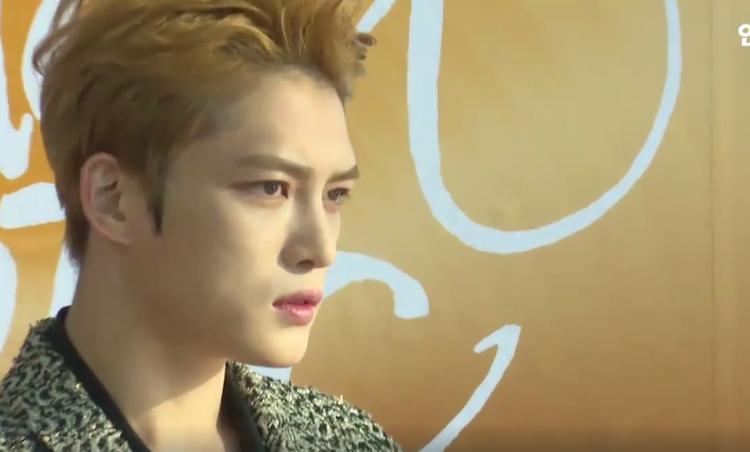 """Hình ảnh này của Jaejoong đúng là """"trái ngọt"""" cho những cố gắng không mệt mỏi của fan."""