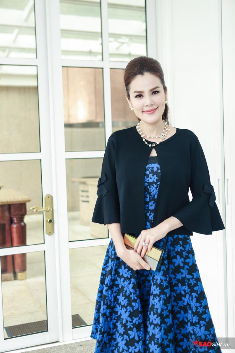 Á hậu doanh nhân Phương Lê.
