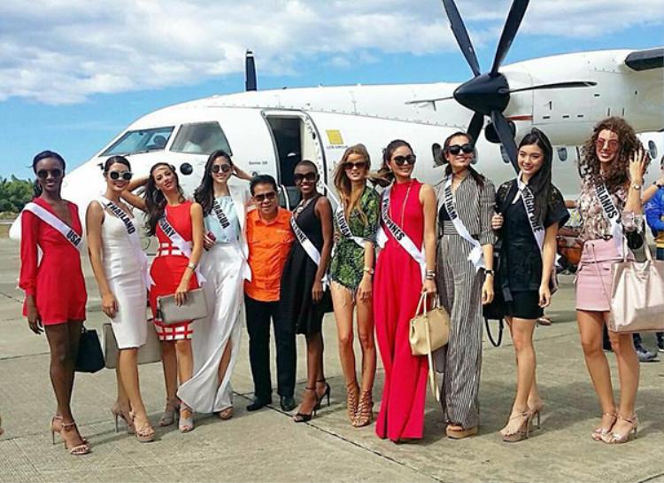 Lệ Hằng tự tin khoe dáng quyến rũ và đầy thu hút tại Miss Universe