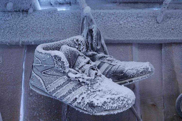 Giày dép thì khỏi cần giặt và cũng không sợ… bốc mùi luôn.