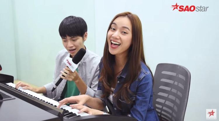 Kiều Diễm xinh đẹp tự đệm piano hát Xuân đã về gửi tặng khán giả.