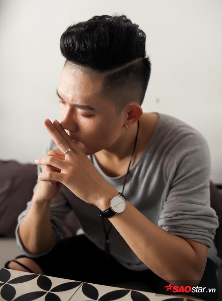 Anh Tú The Voice: Chị Đông Nhi nói cái ngông, cái điên sẽ là thứ giúp tôi tỏa sáng