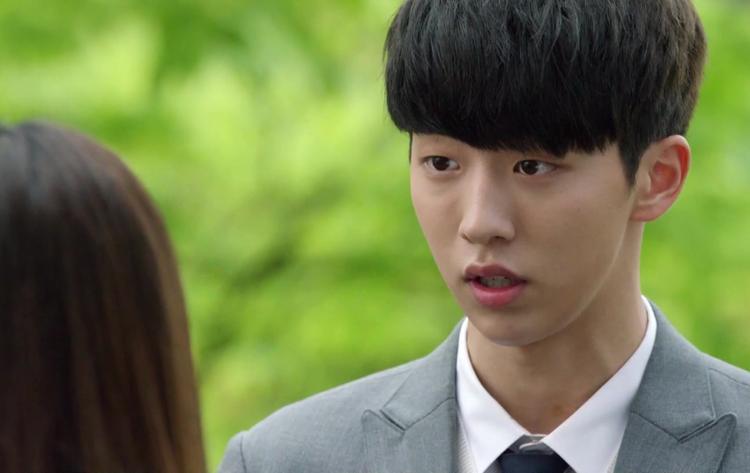 """Nam Joo Hyuk từng """"ngố"""" như thế trong bộ phim Who Are You: School 2015."""