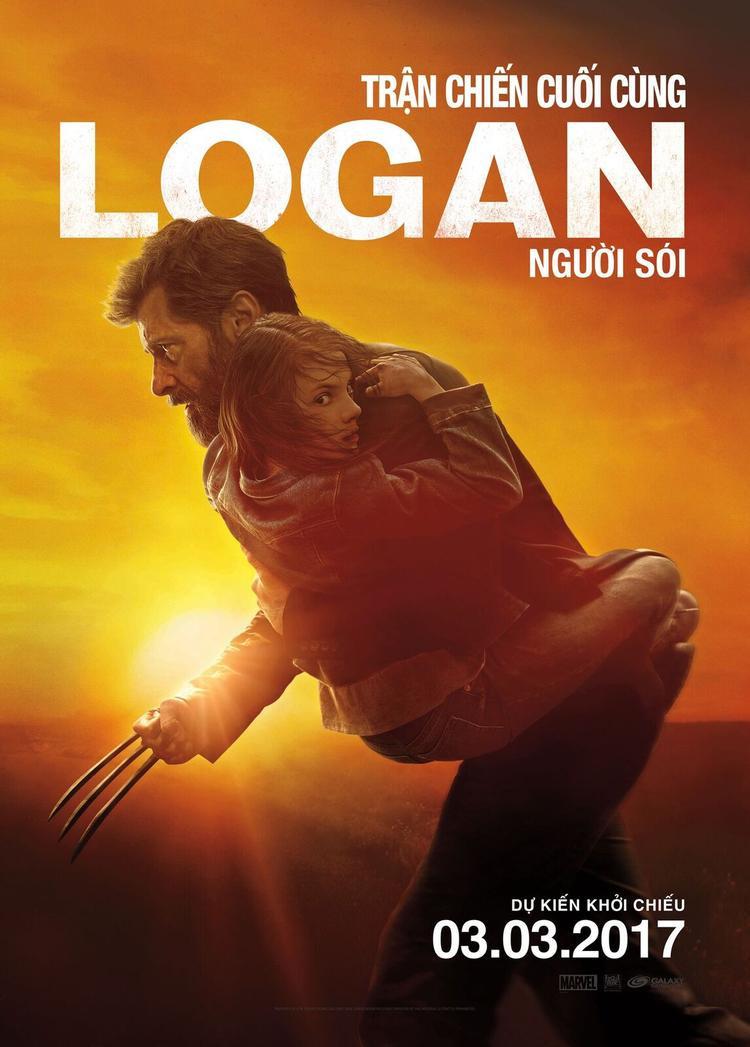 Poster chính thức của Logan.