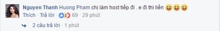Nguyễn Thị Thành ủng hộ Phạm Hương làm HLV The Face mùa 2.