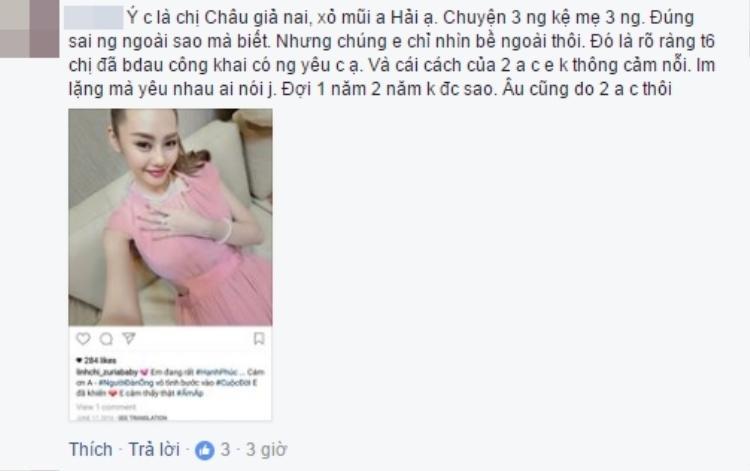 Hết cãi tay đôi với anti-fan, Linh Chi lại đá đểu vợ cũ Lâm Vinh Hải là giả tạo?