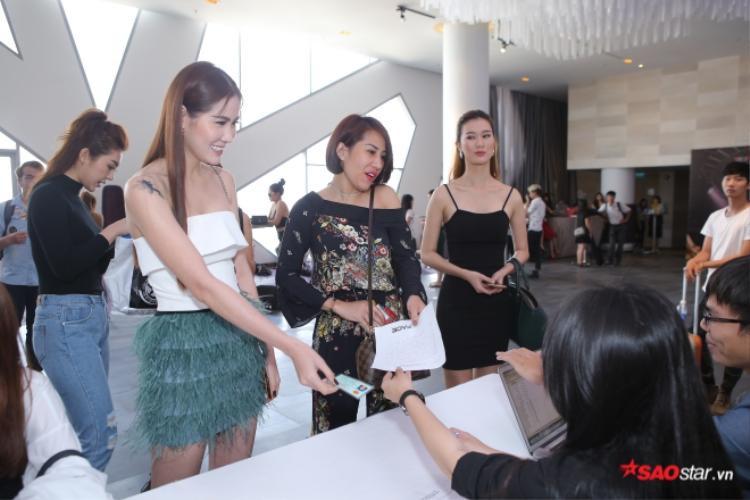 Trương Mỹ Nhân, Lệ Nam bất ngờ xuất hiện tại buổi casting The Face