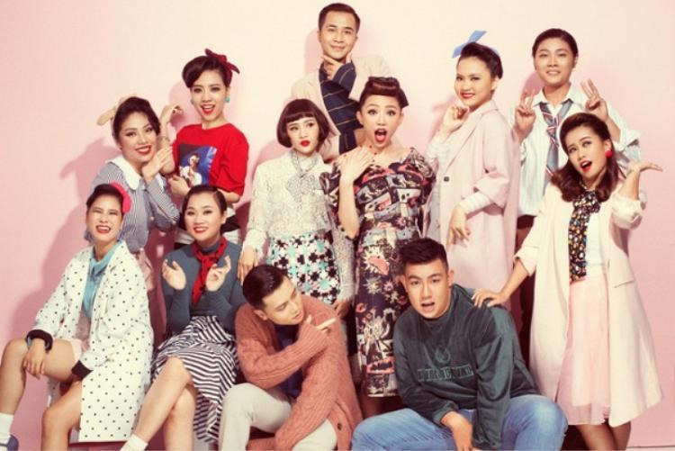 Đội hình team Tóc Tiên