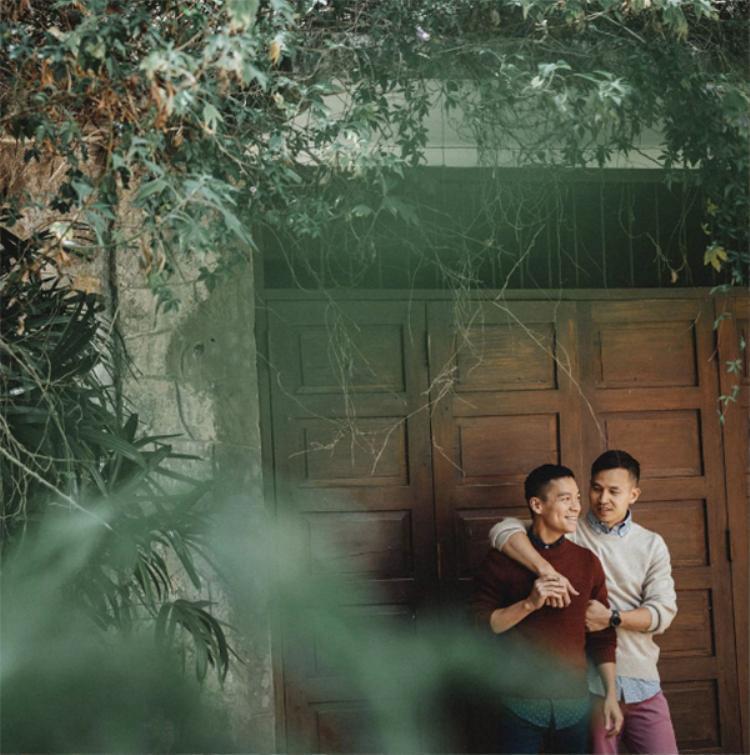 Tan chảy trước bộ ảnh lãng mạn của cặp đôi Adrian Anh Tuấn  Sơn Đoàn