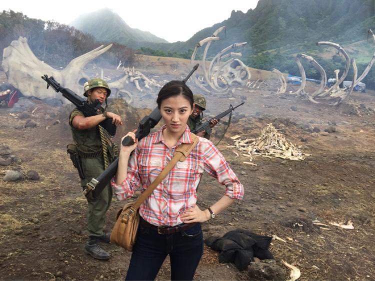 Cảnh Điềm không có nhiều đất diễn trong Kong: Skull Island.