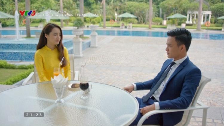 Biết mình không thể chiếm được trái tim Linh, Khánh chấp nhận là người rút lui.