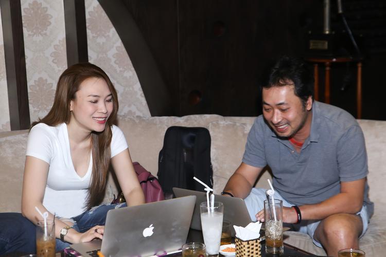 Đạo diễn Quang Dũng cũng là người hỗ trợ Mỹ Tâm trong nhiều dự án âm nhạc.