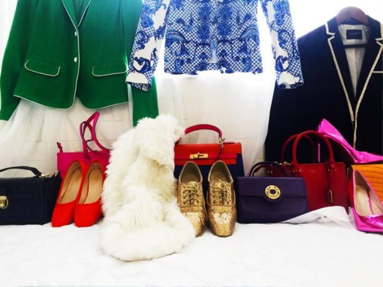 Áo khoác là những Items đinh trong tủ áo của mình.