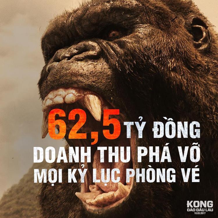 Kỷ lục trong ba ngày cuối tuần tại Việt Nam.