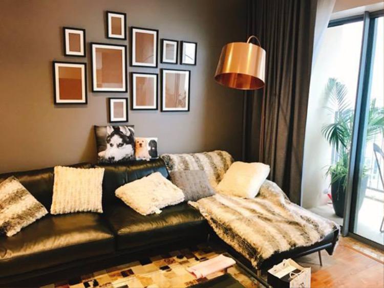 Không gian căn hộ mới của vợ chồng Thành Trung.