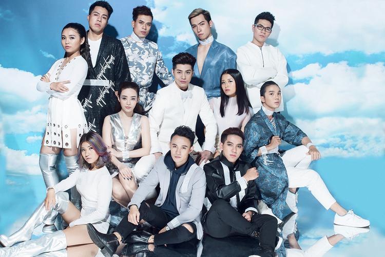 Noo Phước Thịnh trong lần xuất hiện gần đây nhất cùng team The Voice.