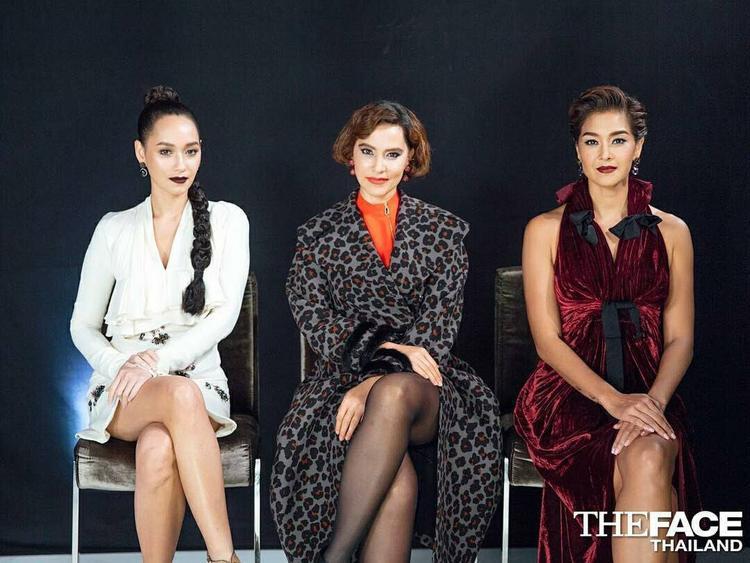 Hình ảnh ba HLV trong tập 7 The Face Thailand sắp tới.