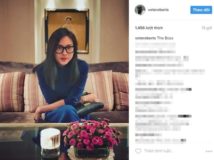 Đạo diễn phim Kong: Skull Island chia sẻ hình ảnh của Ngô Thanh Vân trên trang Instagram cá nhân.